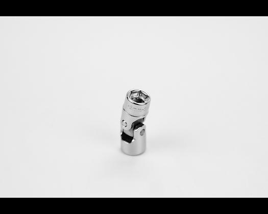 S-K 43808 8mm 1/4in Dr 6 Point Metric Flex Chrome Socket