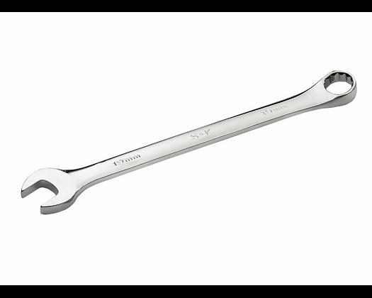 S-K 88236 1-1/8in 12 Pt Fract Regular Comb Chrome Wrench