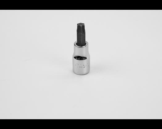 S-K 45545 T45 3/8in Dr Torx Chrome Bit Socket