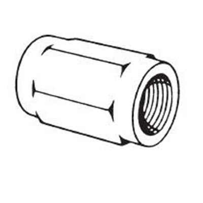 "Lincoln 10522 Bushing, 1/4""FPT x 1/2""-27FMPT"