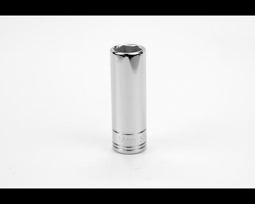 S-K 41708 12mm 1/4in Dr 6 Point Metric Dp Chrome Socket