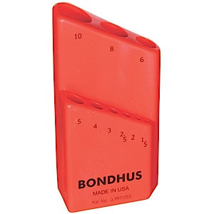 Bondhus 18099 Bondhex Case Holds 9 Tools 1.5 - 10mm
