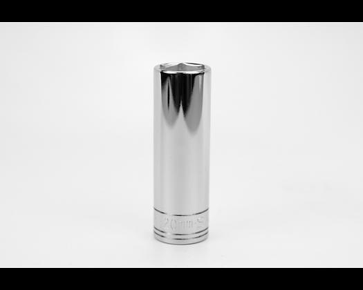 S-K 40020 20mm 1/2in Dr 6 Point Metric Dp Chrome Socket