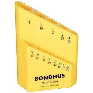 Bondhus 18037 Bondhex Case Holds 13 Tools .050 - 3/8