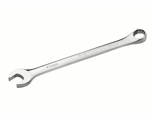 S-K 88232 1in 12 Pt Fract Regular Comb Chrome Wrench