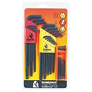Bondhus 14130 Triple Pack - Ball L-Wrench Sets