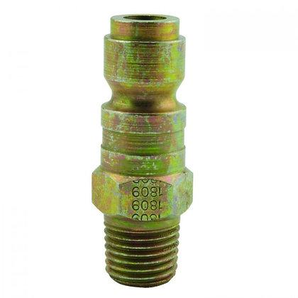 Milton S-1809 1/4in. MNPT P Style Plug