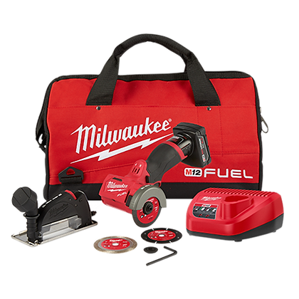 Milwaukee 2522-21XC M12 FUEL 3in. Compact Cut Off Tool - Kit