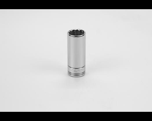 S-K 8434 14mm 3/8inDr 12 Point Metric Dp Chrome Socket