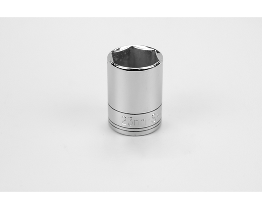 S-K 48223 23mm 1/2in Dr 6 Pt Metric Std Chrome Socket