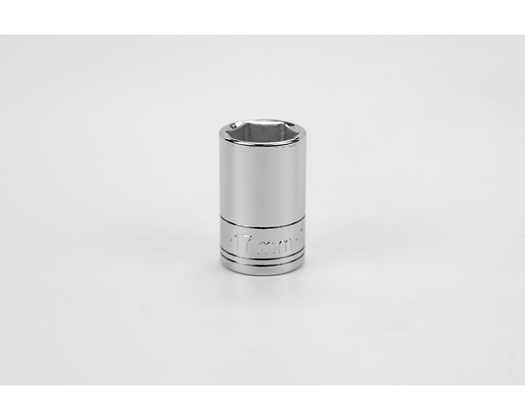 S-K 48217 17mm 1/2in Dr 6 Pt Metric Std Chrome Socket