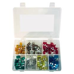 K-Tool 00080 120-pc Auto Fuse Assortment, Color Coded, 5 - 30 Amp