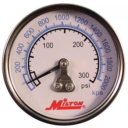 Milton 1192 1/4in. NPT High Pressure Gauge