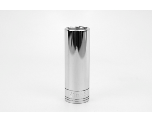 S-K 40021 21mm 1/2in Dr 6 Point Metric Dp Chrome Socket