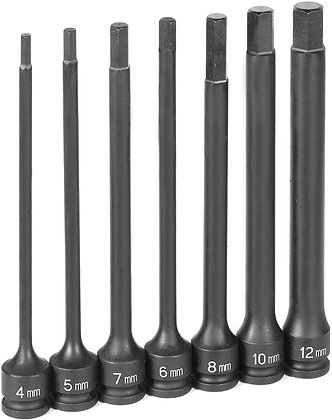 Grey Pneumatic 1267MH 3/8 Dr 6in. Length Set
