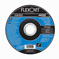 """FlexOvit A2226 Type 27 Grinding Wheel 5' x 1/4"""" x 7/8"""""""