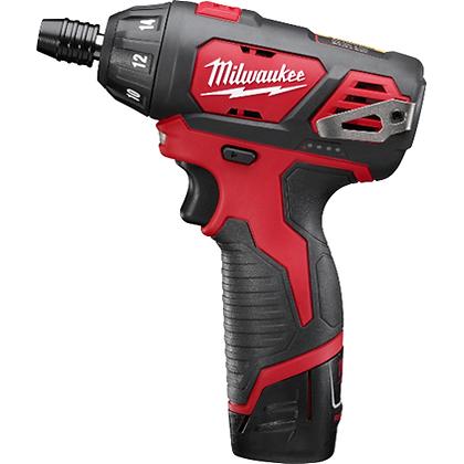 Milwaukee 2401-22 M12 1/4in. Hex Screwdriver Kit