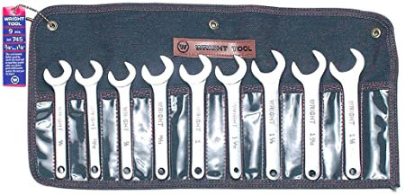Wright Tool 745 9 Pc. Servie Wrench Set
