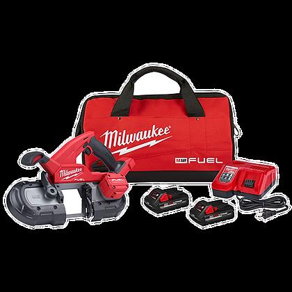 Milwaukee 2829-22 M18 FUEL SAWZALL Reciprocating Saw - 2 Battery XC5.0 Kit