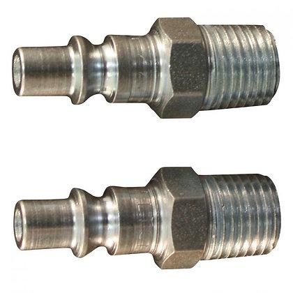 Milton 777BK 1/4in. MNPT A Style Plug