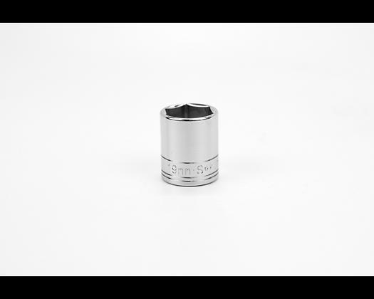 S-K 319 19mm 3/8in Drive Metric Std Chrome Socket