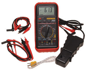 Electronic Specialties 585K Deluxe Automotive Meter with RPM & Temperature