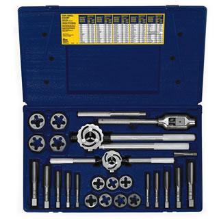 Irwin 97311 25-pc Metric Tap & Hex Die Set
