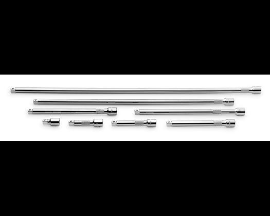 S-K 4538 8pc 3/8in Dr Chrome Extension Set