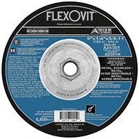 "FlexOvit A8301H Type 27 Grinding Wheel 9"" x 1/4"" x  5/8-11"""