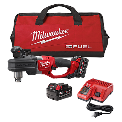 Milwaukee 2707-22 M18 FUEL HOLE HAWG 1/2in. Right Angle Drill Kit