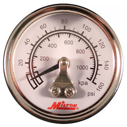 Milton 1189 1/8in. NPT Mini High Pressure Gauge