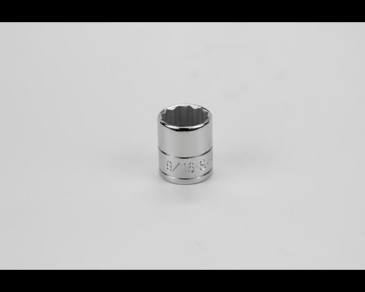 S-K 439189/16in 1/4in Dr 12 Pt Fract Std Chrome Socket