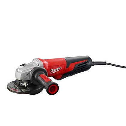 Milwaukee 6117-30 13 Amp 5in. Small Angle Grinder Paddle, Lock-On