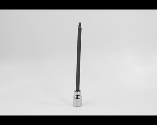 S-K 45965 5mm 3/8in Dr Long Ball Hex Chrome Bit Socket