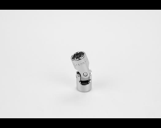 S-K 43809 9mm 1/4in Dr 6 Point Metric Flex Chrome Socket