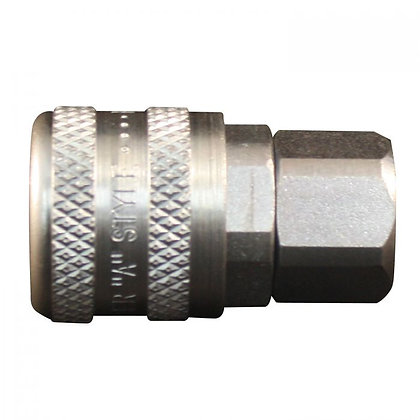 Milton S-775 1/4in. FNPT A Style Coupler