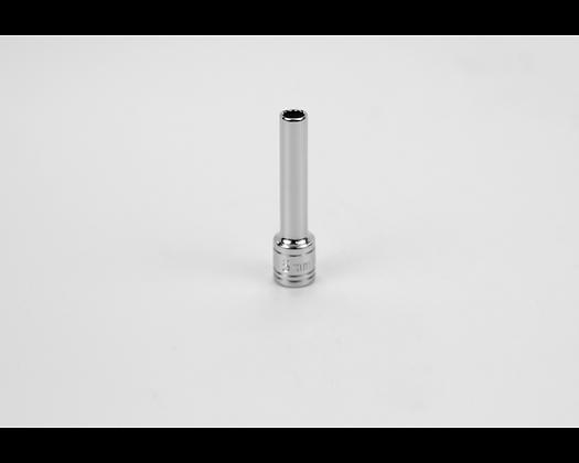 S-K 44702 5mm 1/4in Dr 12 Point Metric Dp Chrome Socket