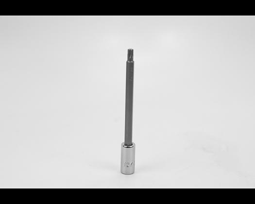 S-K 42977 T27 1/4in Dr Long Torx Chrome Bit Socket