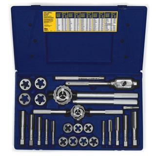 Irwin 97094ZR 25-pc Fractional Tap & Hex Die Set