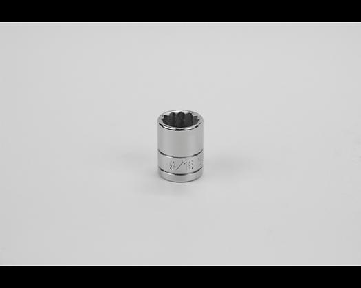 S-K 45218 9/16in 3/8in Dr 12 Pt Fract Std Chrome Socket