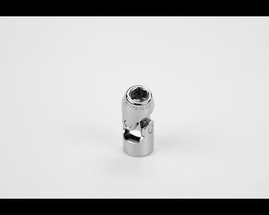 S-K 40612 3/8in 3/8in Dr 6 Point Fract Flex Chrome Socket