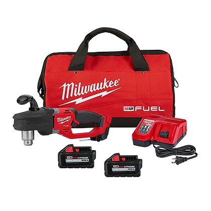 """Milwaukee 2807-22 M18 FUEL HOLE HAWG 1/2"""" Right Angle Drill Kit"""