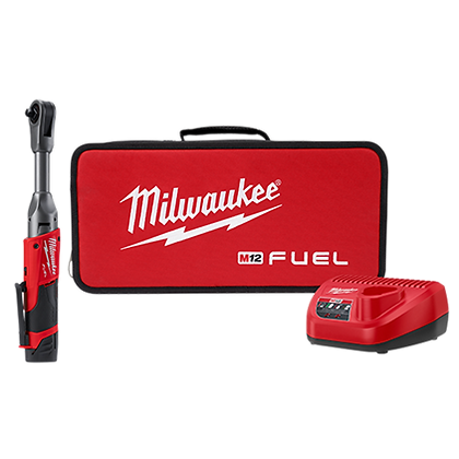 Milwaukee 2560-21 M12 FUEL 3/8in. Extended Reach Ratchet Kit