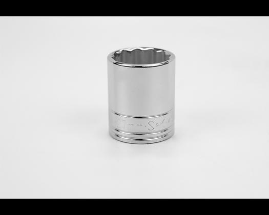 S-K 40327 27mm 1/2in Dr 12 Pt Metric Std Chrome Socket