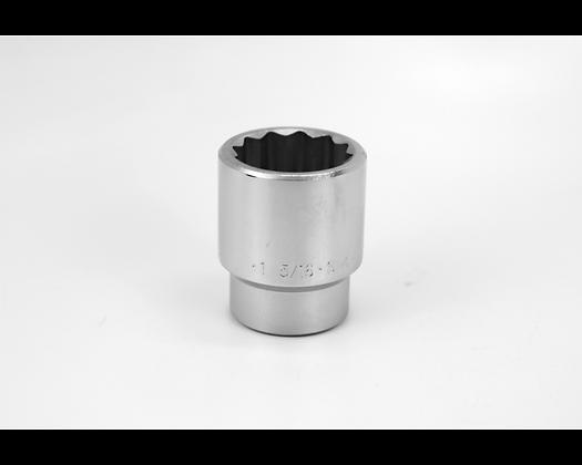 S-K 47142 1-5/16in 3/4in Dr 12 Pt Fract Std Chrome Socket