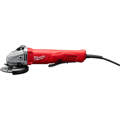 Milwaukee 6141-30 11 Amp Corded 4-1/2 in. Small Angle Grinder Paddle Lock-On
