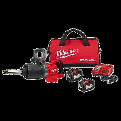 "Milwaukee 2869-22HD M18 FUEL 1"" D-Handle Ext. Anvil High Torque Imp Wr w/ONE-KEY"