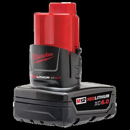 Milwaukee 48-11-2460 M12 REDLITHIUM XC6.0 Battery