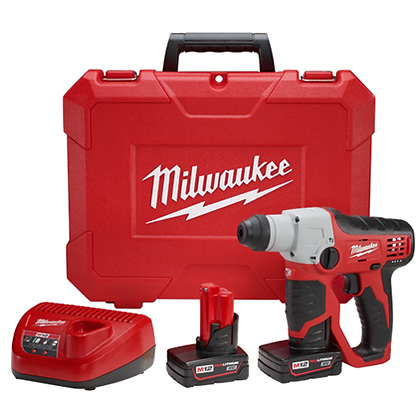 Milwaukee 2412-22XC M12 Cordless Lithium-Ion 1/2in. SDS-Plus Rotary Hammer Kit