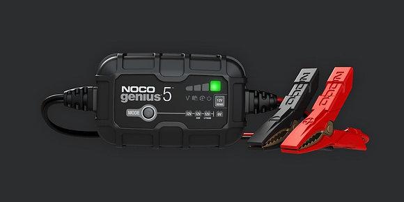 NOCO GENIUS5 6V/12V 5-Amp Smart Battery Charger